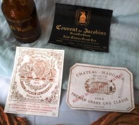 Antiguas etiquetas de bebidas. Ancient beverage labels