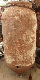 Tinaja. Orza de barro. Años 30. Gran tamaño.